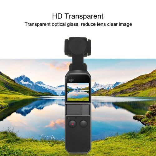 PULUZ HD Lente de vidrio templado protector y pantalla de cine para DJI OSMO Cardán De Bolsillo