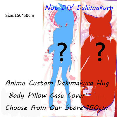 Anime Custom Dakimakura Hug Body Pillow Case Cover Choose from Our Store 150cm