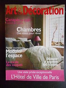"""""""art & Décoration"""" N°446 Octobre 2008 Saveur Aromatique"""
