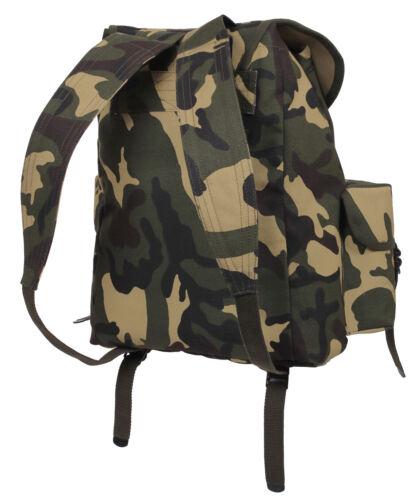 Mini Alice Backpack Woodland Camo Pack GI Style Camouflage Rothco 2897