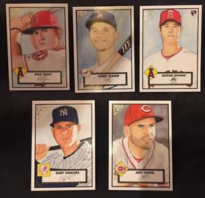 Details About 2018 Topps Gallery Baseball Heritage Insert Cards Lot You Pick
