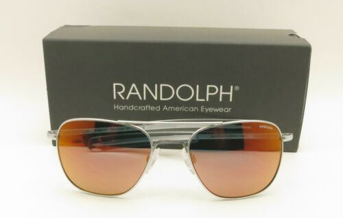 Randolph Engineering Aviator Bayonet Matte Chrome Mirror L58mm Buyer Picks Color