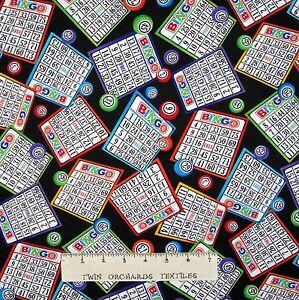 Bingo-Fabric-Game-Cards-amp-Balls-Toss-Black-Timeless-Treasures-25-034