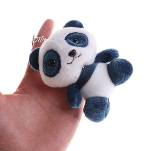 Panda Toys Baby Animal Stuffed Plush Toys Bag Phone Pandent Keychain Doll FG