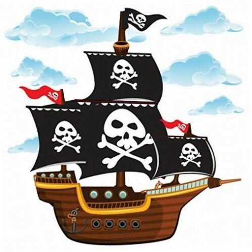 Wandsticker Kollektion,... GET STICKING DÉCOR® Piraten Piratenschiff Wandtattoo