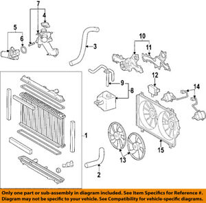 details about lexus toyota oem 07 10 gs350 radiator coolant lower hose 1657231380 rh ebay com Lexus ES 350 Parts Diagram Lexus ES 350 Parts Diagram