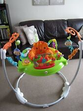 """Fisher-Price Roaring Rainforest Jumperoo With Original Box """"EXCELLENT CONDITION"""""""