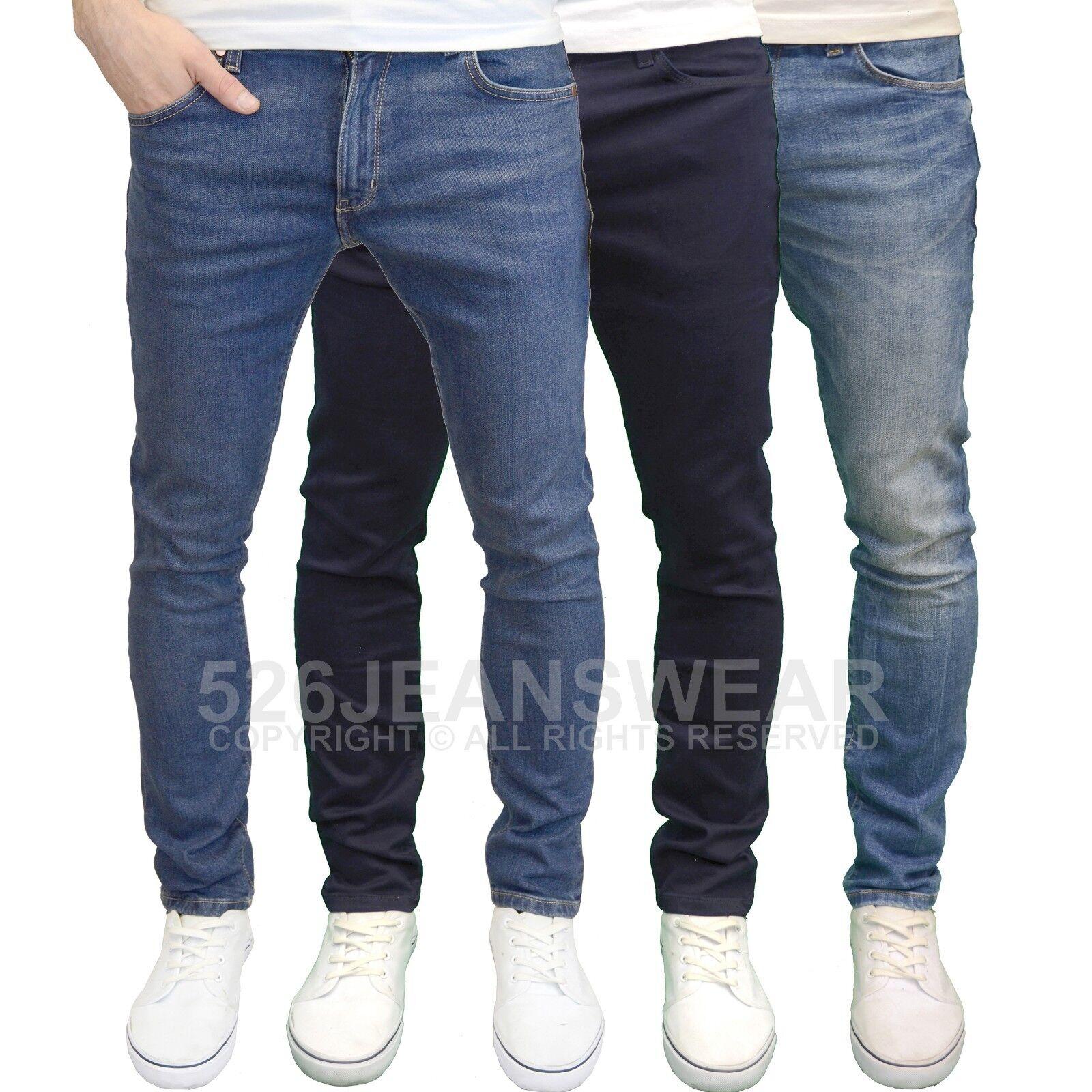 Wrangler Larston Mens Branded Slim Fit Tapered Leg Jeans, BNWT