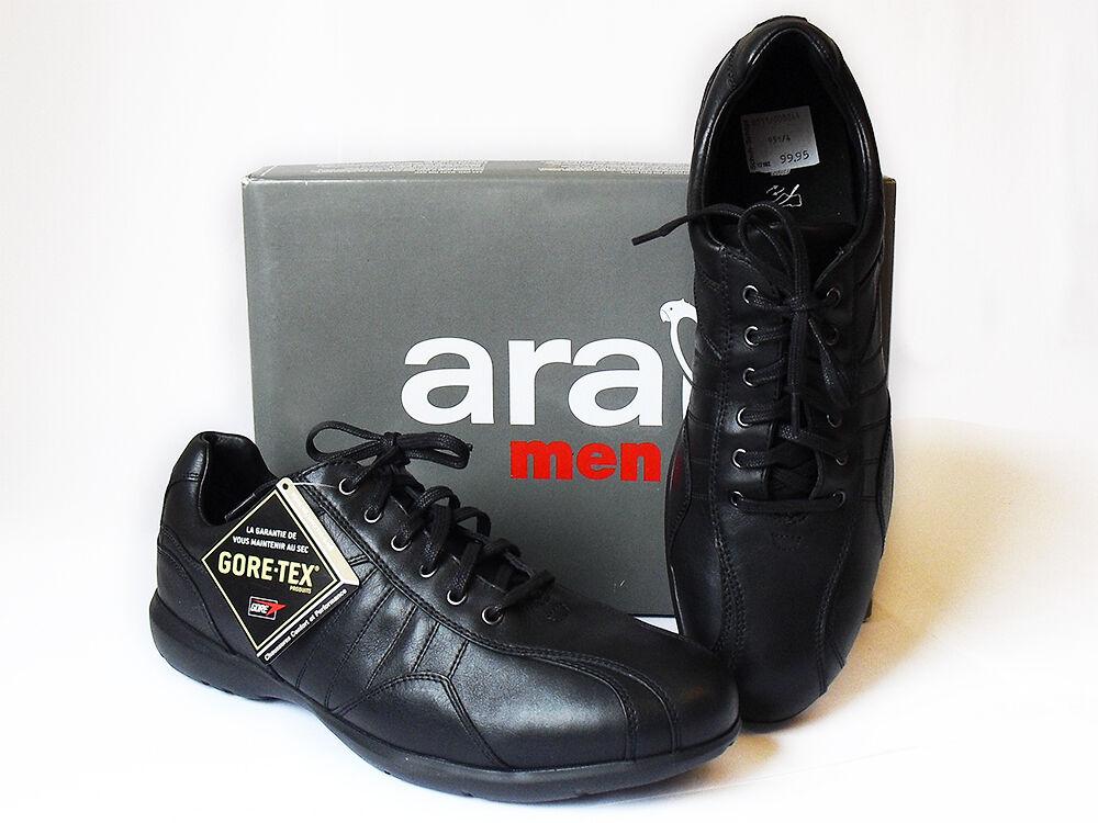ARA Herrenschuhe Meriva Gr. 46 schwarz mit GORE TEX Ausstattung Neu