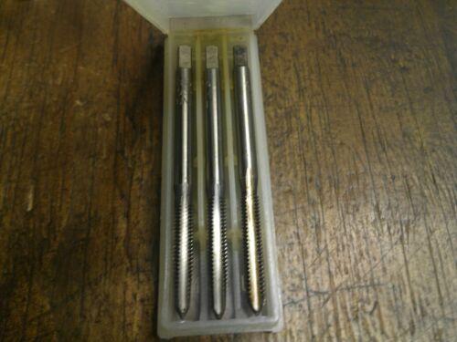 """UNS NS 1//4/"""" x32 RH Tungsten steel 3pc Hand Tap Taper intermediate Bottom plug  R"""