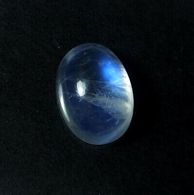 Rainbow Moonstone Smooth Cab Good Quality full Amazing fire Shape Oval Size 25x47 mm