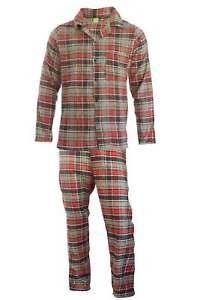 Clothing, Shoes & Accessories Hose Warm #3 L Men's Clothing Trustful Herren Flanell Pyjama 2-teilig Schlafanzug Lang Oberteil