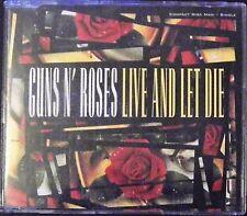 GUNS N' ROSES - LIVE AND LET DIE 3.TRACK CD SINGLE