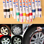 Waterproof-Permanent-Paint-Marker-Pen-For-Car-Tyre-Tire-Tread-Rubber-Metal miniature 1
