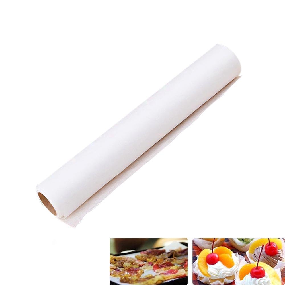 5M Parchemin Papier en Silicone pour Patisserie Tapis Rouleau de Cire Anti