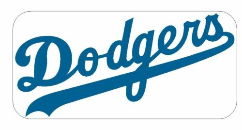 Los Angeles Dodgers Sticker Decal S195 Baseball YOU CHOOSE SIZE