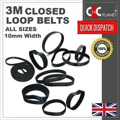 Details about  /S3M330 Rubber Timing Belt Synchronous Closed Loop Timing Belt Pulleys 10mm Width