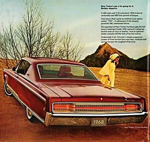Old-Print-Cherry-1968-Chrysler-New-Yorker-Two-Door-Hardtop-Auto-Ad