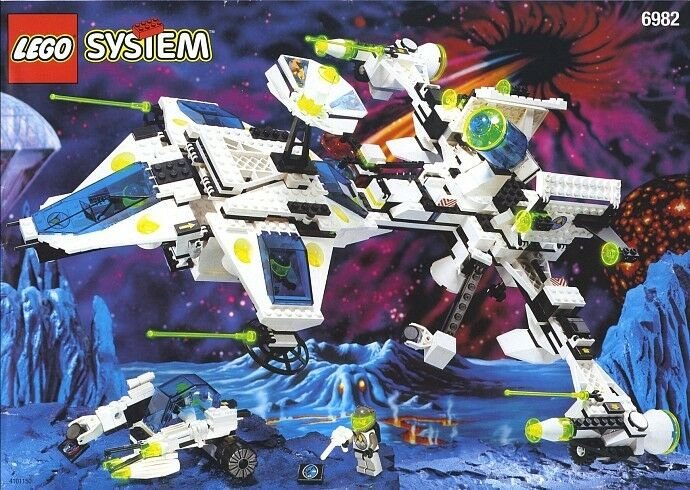 Lego Space Explorien 6982 Starship Starship Starship  New SEALED 784af3