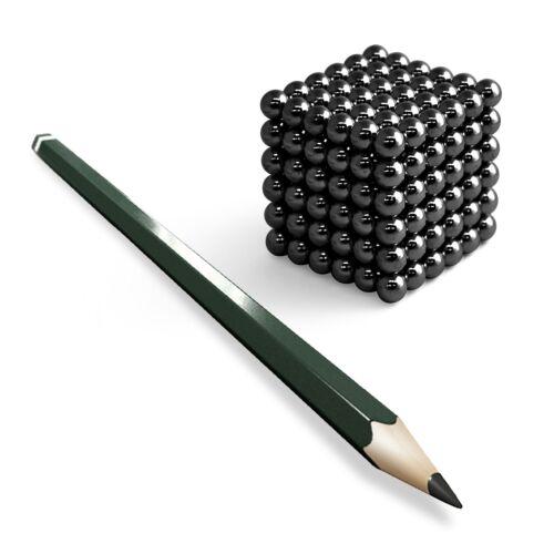 216 Neodym Kugelmagnete D5mm D7mm D10mm GOLD SILVER BLACK NICKEL NdFeB Würfel