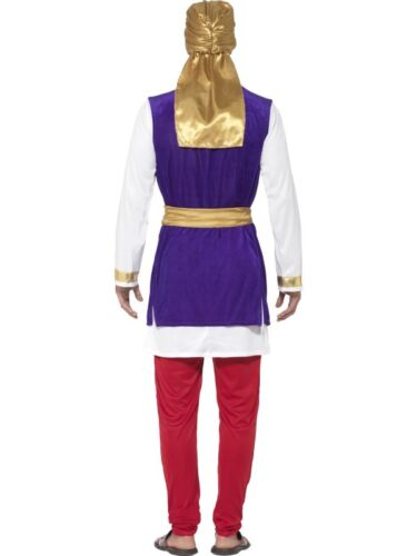 Adult Mens Arabian Prince Fancy Dress Costume Aladdin Oufit New by Smiffys