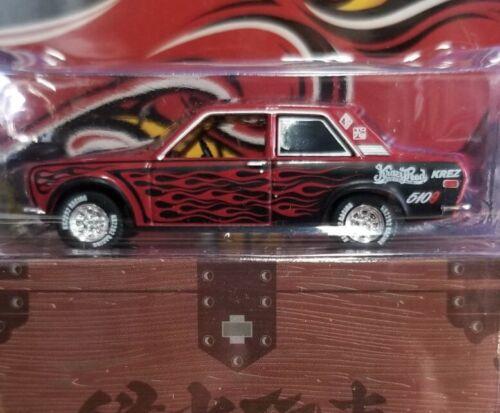 Greenlight Hell/'s Dept Datsun 510 Regular Version Red//Black NEW IN PACKAGE