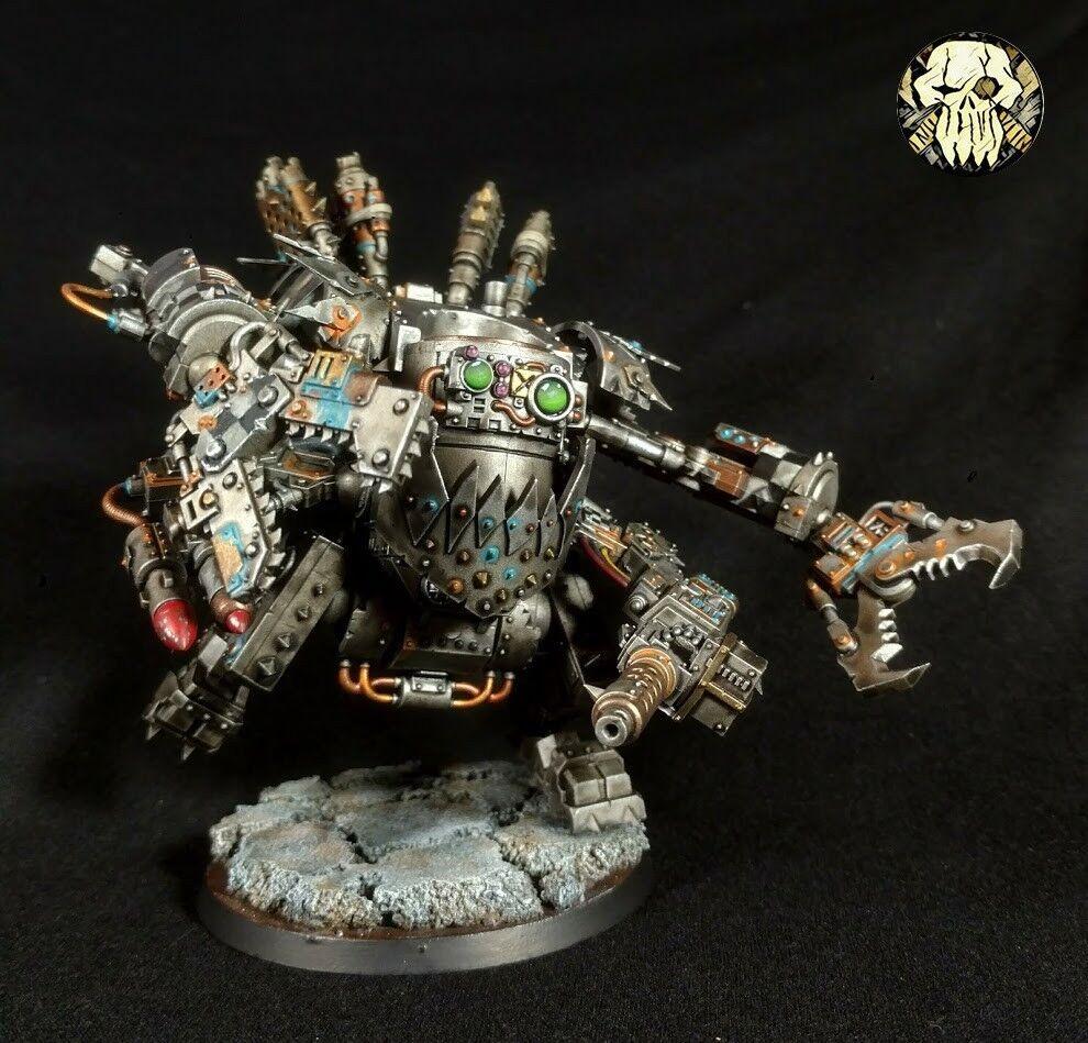 Ork Deff temible Pro Pintado Dreadnought  Comisión  Warhammer 40K
