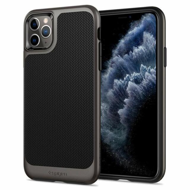 Spigen Neo Hybrid Works with Apple iPhone 11 Pro Case (2019) - Gunmetal