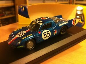 Alpine A210 14ème Le Mans 1968 N ° 55 1/43 Top Model fabriqué en Italie