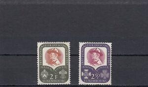 Contemplatif A140-luxembourg-sg621-622 Neuf Sans Charnière 1957 Centenaire De La Naissance De Lord Baden-powell-afficher Le Titre D'origine Large SéLection;