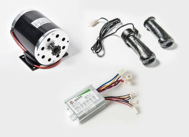 500W 24V DC Electric Motor kit w Reverse Control box f GoKart Trike eATV DIY