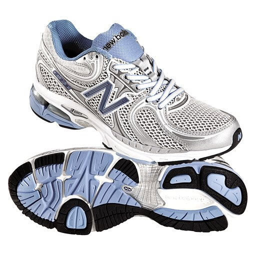 New Balance WR860BS Womens Runner (B) (Blue/Grey) RRP $189.90 | SAVE AUD $25!