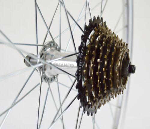 environ 66.04 cm QR 26 in wheelson Roue Arrière 6//7 SPD vélo de montagne Shimano Roue libre 36 H