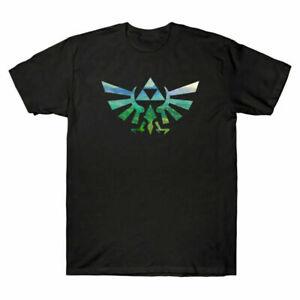 Shirt T-Shirt Royal zelda Sleeve Cotton Tee Short Men's The legend of Crest