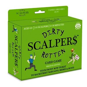 Dirty Rotten Scalpers - Best New Family-Friendly Fun Card Game