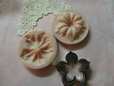 Petunia Flower Set Silicone Mold Cookie Cutter Biscuit Pastry Fondant  Cake