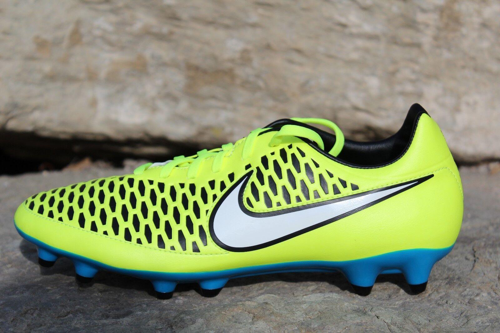Nike Womens Magista Onda FG Sz 6.5 Blue Volt Soccer Cleats World Cup 658569 700