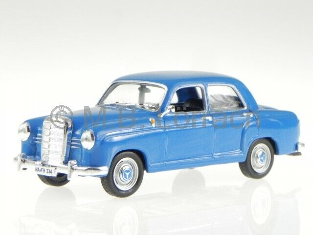 blue Minichamps 1:43 Mercedes-Benz 180 W120