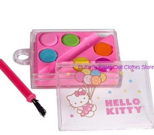 Mini Hello Kitty Paint Set 18 in Doll Clothes Accessory For American Girl Dolls