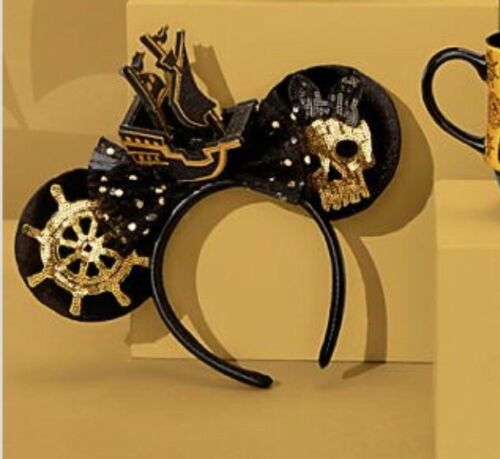 Disney Parks Minnie Mouse The Main Attraction Pirates Of The Caribbean Ears NWT