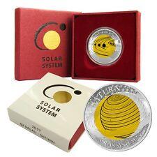 2 Dollar Palau 2017 PP - Niob Solarsystem Saturn 2017