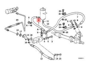Genuine BMW E30 E31 E32 E34 E36 E38 E39 E46 Hose Clamp x5 pcs OEM 32111131345