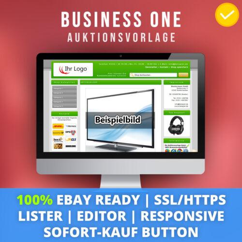 Green One Template Auktionsvorlage Verkaufsvorlage vorlage HTTPS 2018