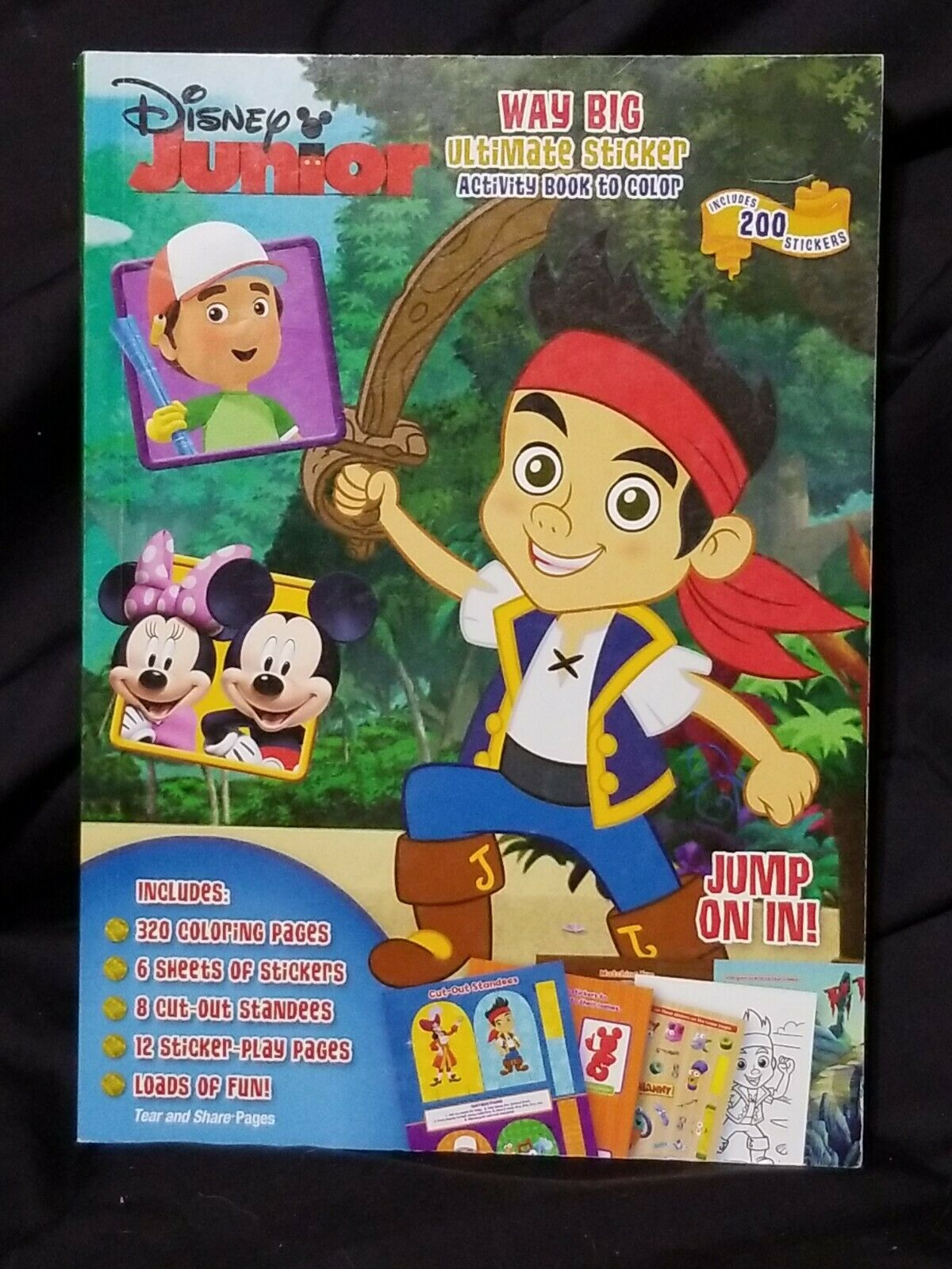 Kids Disney Junior Coloring Book Handy Manny Oso Mickey Jake Pirates 96 Pgs For Sale Online Ebay