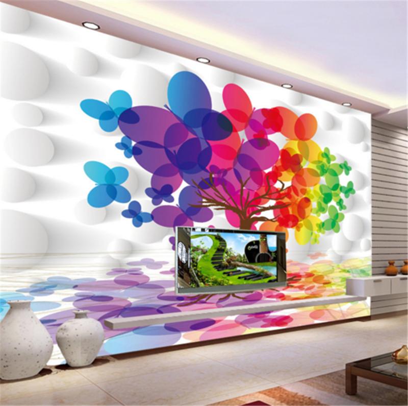 3D Farbeed Tree Lakes 82 Wallpaper Mural Paper Wall Print Wallpaper Murals UK