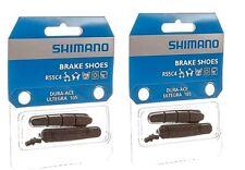 2 Pair - Shimano R55C4 Cartridge Road Brake Shoes - Dura-Ace Ultegra 105 (4pads)