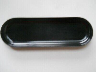 Stfteschale Schwarz Schreibtischablage Füllerschale Retro! Hartkunststoff Wir Nehmen Kunden Als Unsere GöTter