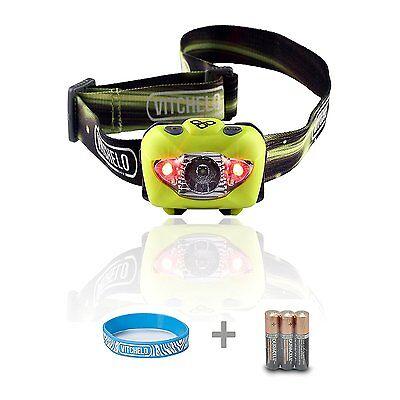 Letmy Headlamp Flashlight Brightest LED Headlamp for Hiking,Running,Camping-Blue
