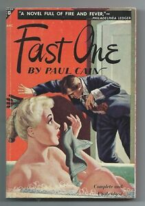 Fast-One-by-Paul-Cain-1948-Avon-178-NF-Hard-Boiled-Vintage-Paperback-VPB