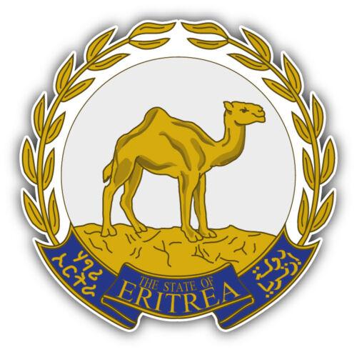 Eritrea Coat Of Arms Car Bumper Sticker Decal 3/'/' or 5/'/'